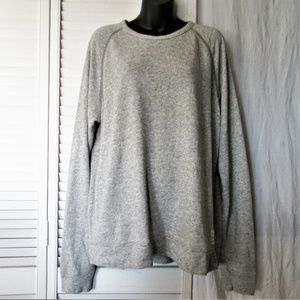 Lucky Brand gray cotton sweatshirt L